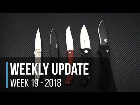 Weekly Update Series Week 19 - 2018: Protech Autos, Boker Slack & Gulo, Benchmade Vallation