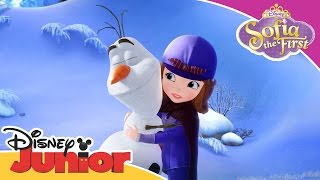 Sofia the First: The Secret Library - A Snowman's Advise | Official Disney Junior Africa