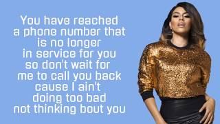 Fifth Harmony ~ Voicemail ~ Lyrics