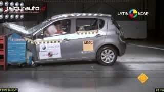 Crash Test Latin NCAP - Fiat Palio 2 airbag