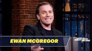 A Ghost Dropped a Ceiling on Ewan McGregor