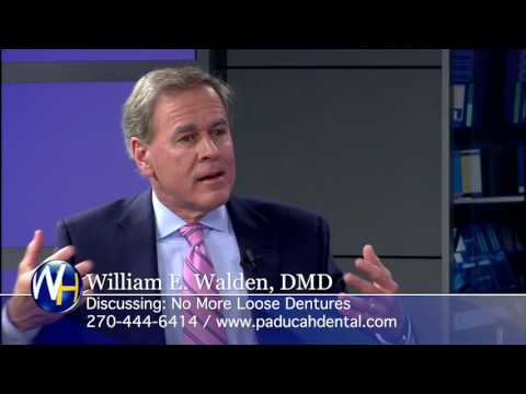 Replacing Missing Teeth with Mini-Dental implants with Paducah, KY dentist Dr. William Walden
