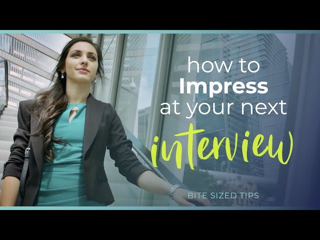 How to Impress in an Interview - Avoid This Common Mistake!