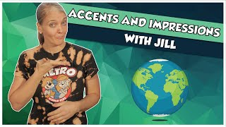 ACCENTS & IMPRESSIONS with JILL | METRO WORLD KIDS