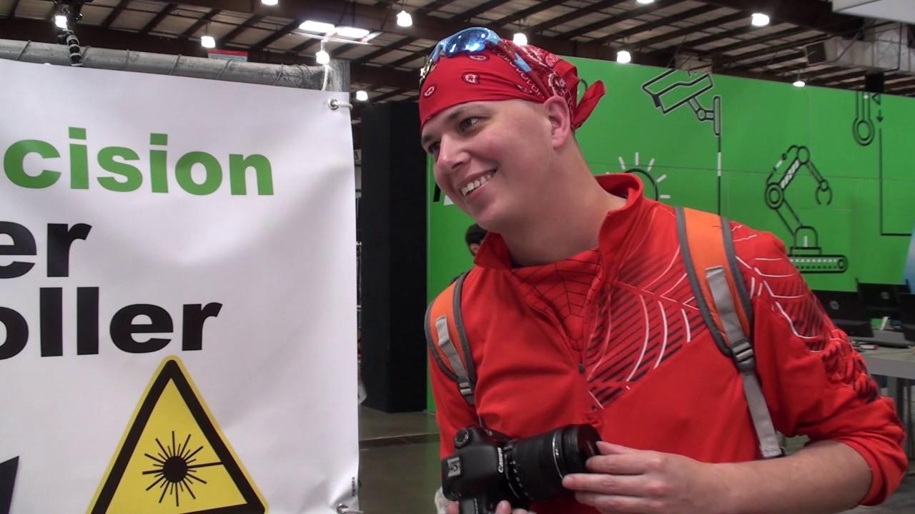 Gerbil K40 Laser Controller at Bay Area Maker Faire 2017