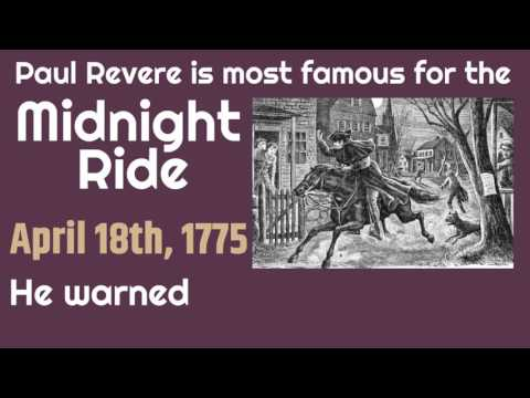 Paul Revere For Kids | Classroom Edition