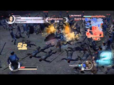 Dynasty Warriors 6 Empires - The Tale of Cai Jing - Episode 1 - Part 1 - Battle of Pu Yang