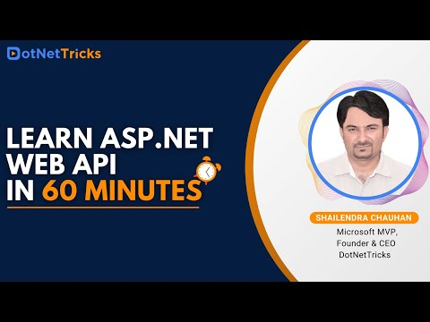ASP.NET Web API Tutorial For Beginners | ASP.NET Web API Crash Course 2020