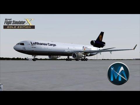 FSX - VOO DE FORTALEZA PARA CAMPINAS (FOR-VCP) - MD-11F LUFTHANSA CARGO