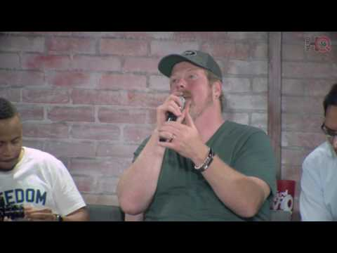 Nerd HQ 2016: If Bender and Jake Played Gears of War (Gears of 4 Cast Conversation Highlight)
