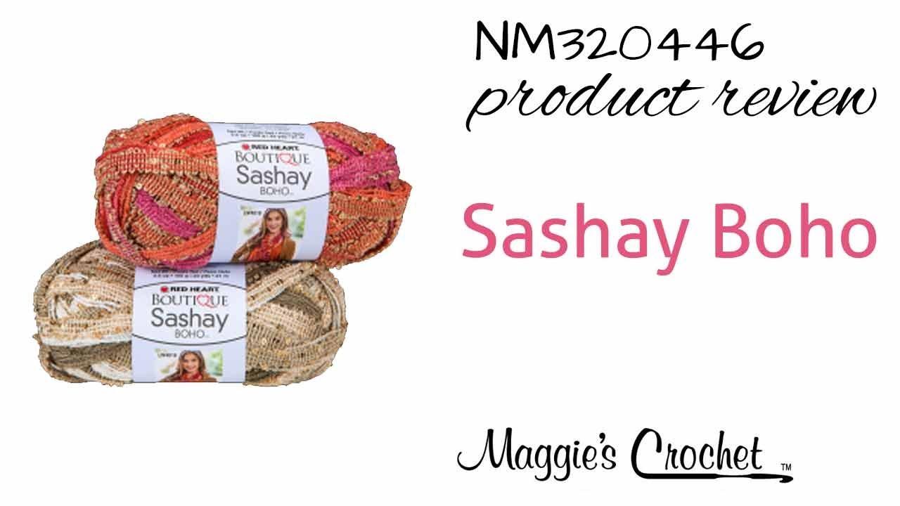 Sashay Boho Yarn NM320446 - YouTube