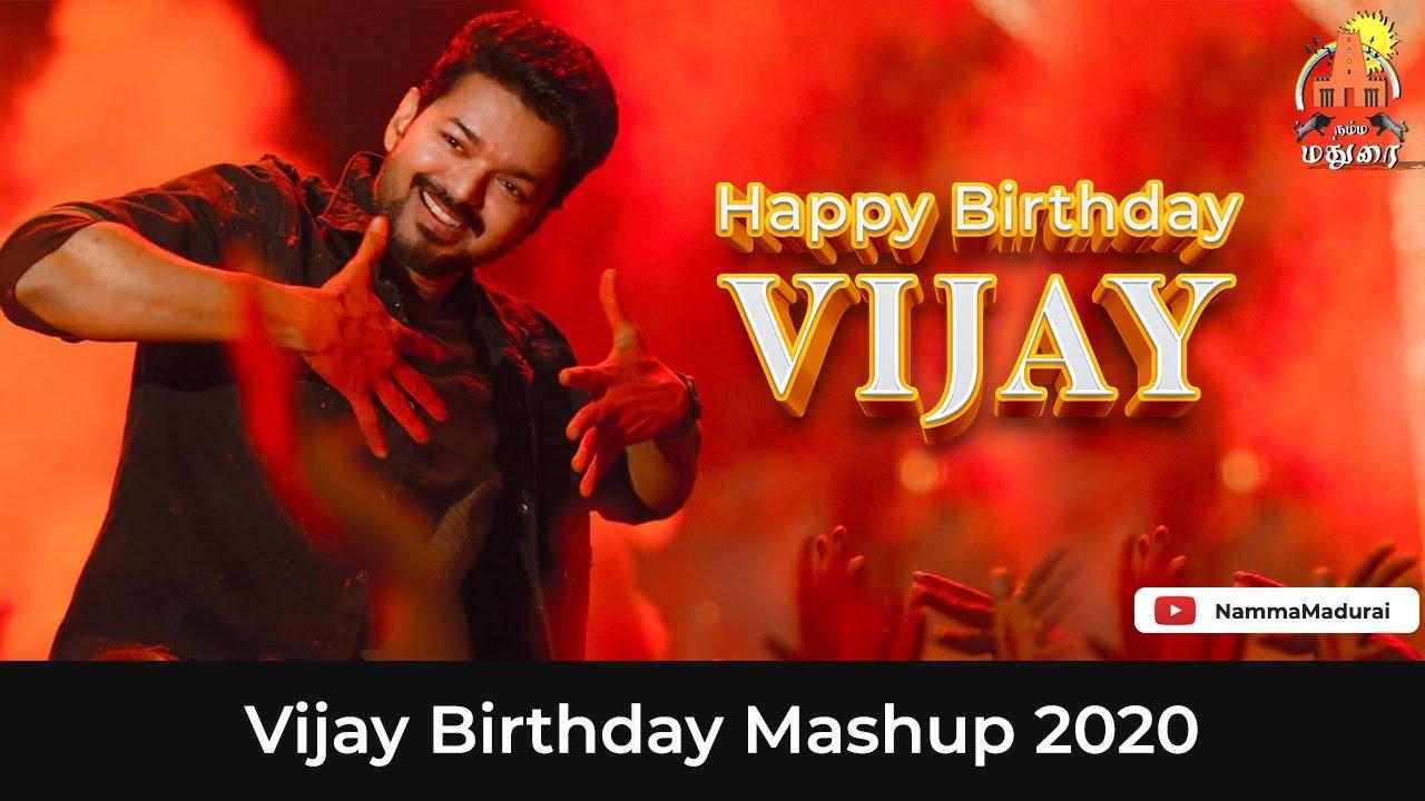 Vijay Birthday Mashup | Vijay Mashup | HBD Vijay | Dhanraj Manickam | Namma Madurai