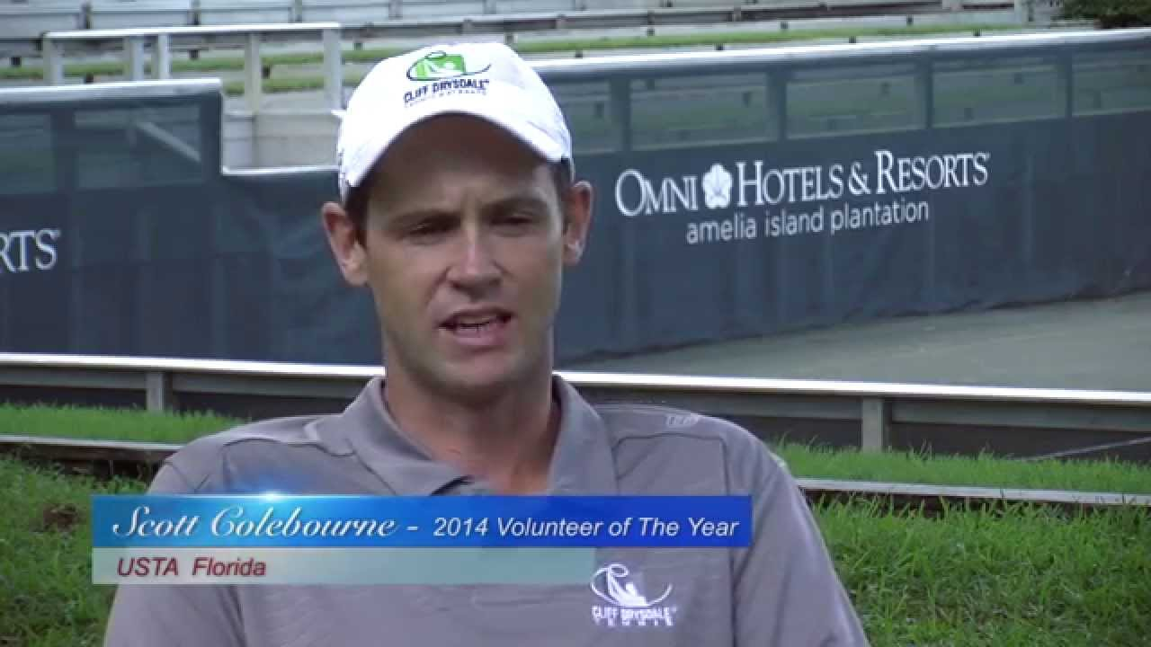 2014 Volunteer of the Year Award: Scott Colebourne - YouTube