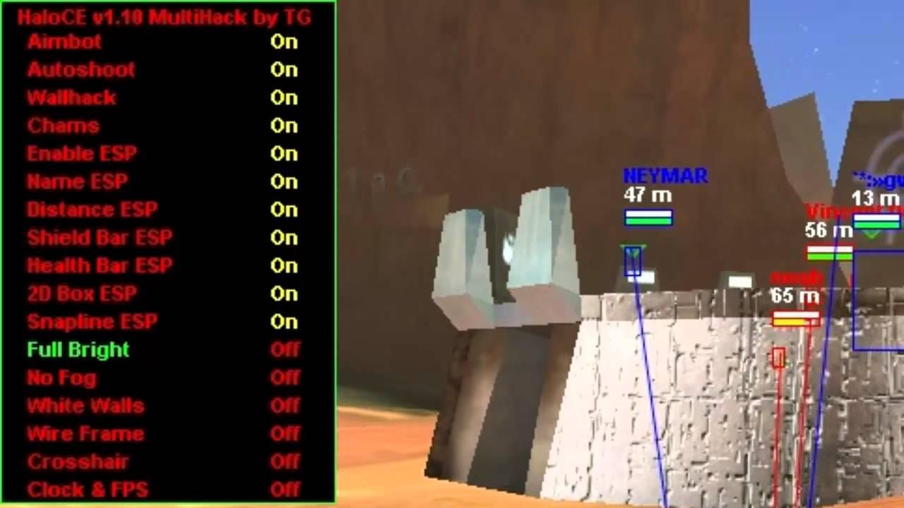 wallhack para halo combat evolved
