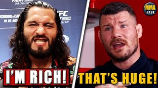 UFC 251 salaries REVEALED, Masvidal reacts, Bisping reacts to UFC 251 generating 1.3m PPV buys, Dana