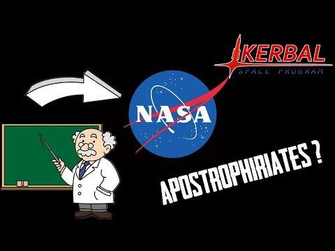 J'AI PRIS DES COURS EN LIGNE AVEC LA NASA - Kerbal Space Program #4