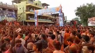 Shivaji peth doble galli vijayapur ganpati viserjan 2017
