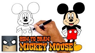 How to Draw Mickey Mouse | Disney