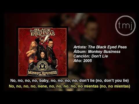 Letra Traducida Don't Lie De The Black Eyed Peas