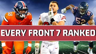 Ranking Every NFL Front 7 2020 From 32 to 1