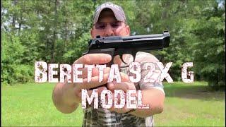 Beretta 92X Moving Target Frustration