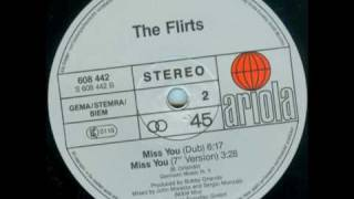 The Flirts - Miss You (Dub Version)