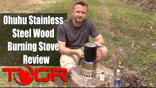 Gambar cover Inexpensive and Very Functional - Ohuhu Stainless Steel Wood Burning Stove - Review