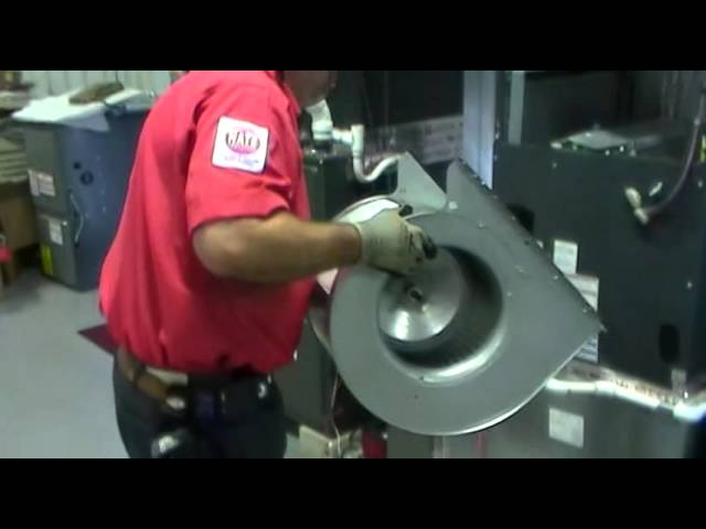 Pull And Clean On A Blower Wheel Blower Housing Step 1 7 Youtube