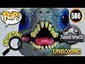 Unboxing BLUE #586 Raptor Jurassic World: Fallen Kingdom - Funko Pop Toy Review