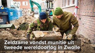 Zeldzame vondst munitie uit WO2 door de EOD in Zwolle - ©StefanVerkerk.nl