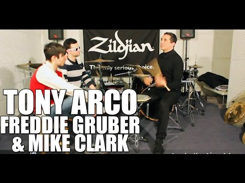 Tony Arco - 'Freddie Gruber & Mike Clark' drum interview