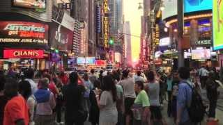 Neil deGrasse Tyson On Manhattanhenge