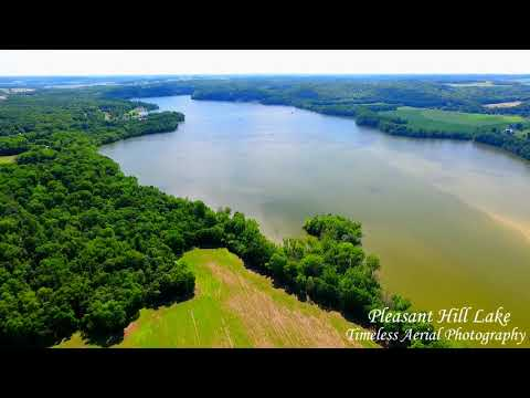 Mount Jeez fly over to Pleasant Hill Lake