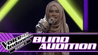 Video Kayla - Wild Things | Blind Auditions | The Voice Kids Indonesia Season 3 GTV 2018 download MP3, 3GP, MP4, WEBM, AVI, FLV Agustus 2018