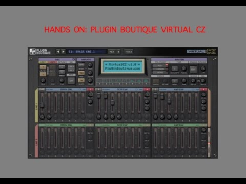 Hands On: Plugin Boutique Virtual CZ - Phase Distortion Synthesizer
