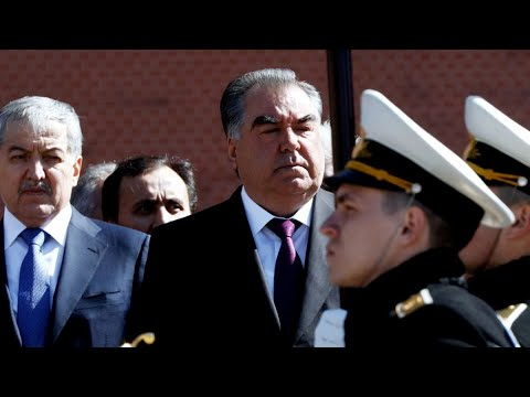 В Душанбе прошел военный парад Национальной гвардии
