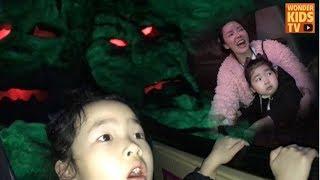 무서워? 겁내지마! 롯데월드 어드벤쳐 무서운 놀이기구 도전 lotte world adventure theme park l kids cafe l 키즈카페