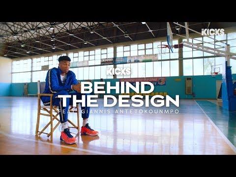 Giannis Antetokounmpo Explains the Inspiration Behind His 1st Signature Shoe
