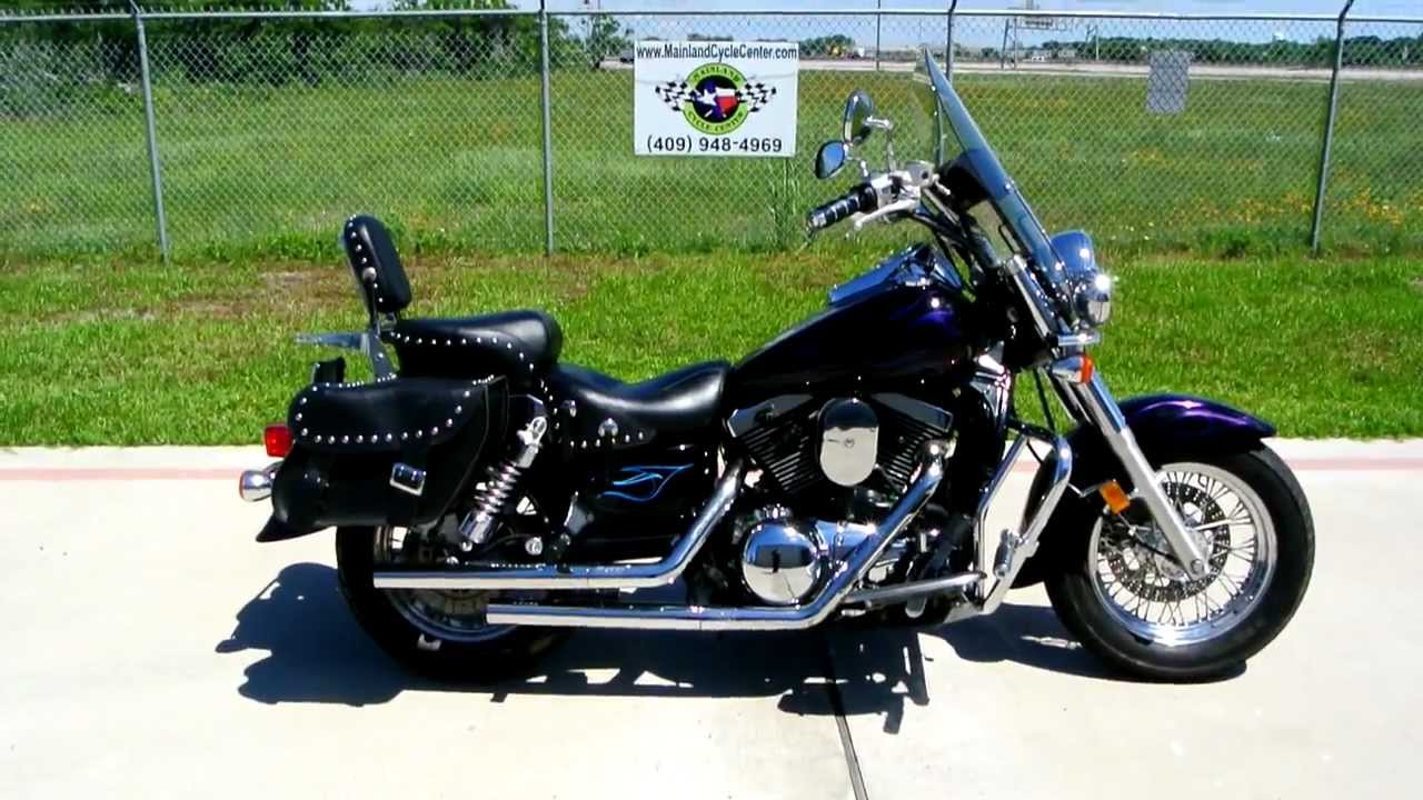 1999 Kawasaki Vulcan 1500 Classic Loaded with great accessories! Custom Paint by Damons!  YouTube