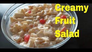 Creamy Fruit Salad Easy Recipe