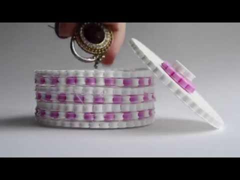 Hama Bead Trinket Box DIY