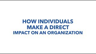 How To Make A Direct Impact On An Organization, Authentic. Leadership Training, Jeff Chavez