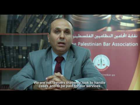 Building a Sustainable Legal Aid System in Palestine