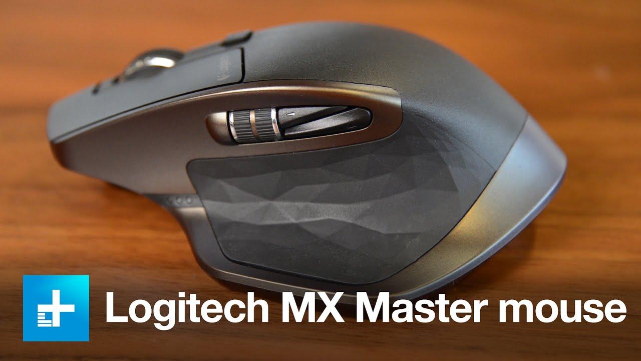 9b6a9ffa00e Logitech MX Master Wireless Mouse - Hands-on Reveiw - YouTube