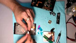 Разборка nokia lumia 720 замена дисплейного модуля