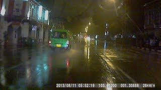 Dangerous Driving by Driver from Qi Ji Catering Singapore
