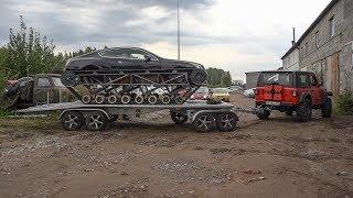 Испытываем прицеп для Bentley Ultratank