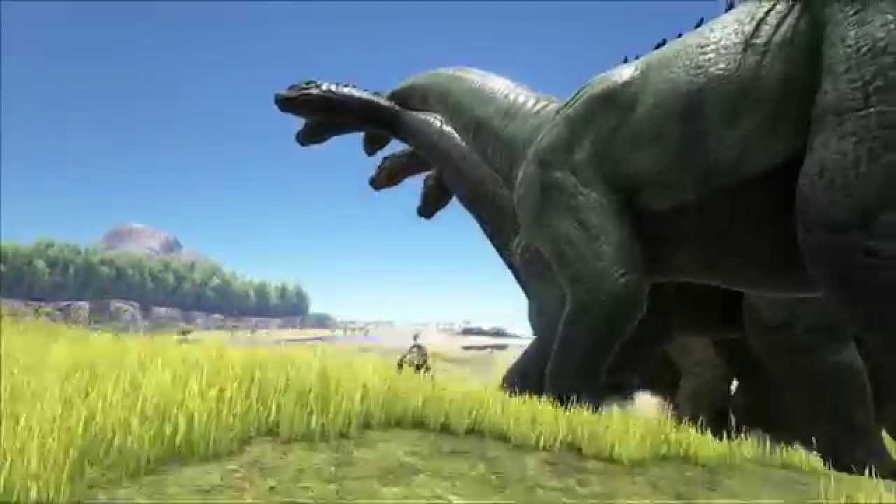 Hail Bronto! (Ark: Survival Evolved) - YouTube