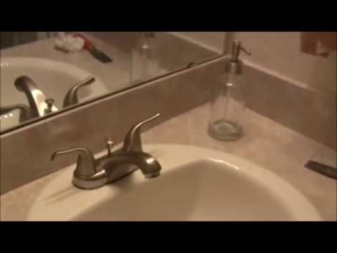 Removing hard water stains from sink and bringing back shine