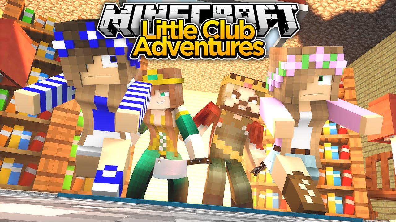 Minecraft little club adventures little kelly 39 s parents - The little club ...